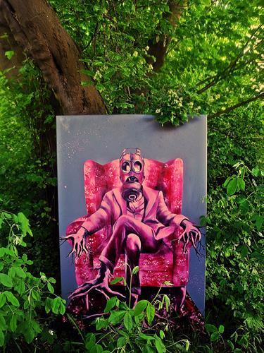 Ute Kleist, METAMORPH - outdoor, Gesellschaft, Symbol, expressiver Realismus