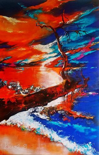 Ute Kleist, NIMM DIR ZEIT, Natur, Gefühle, Expressionismus, Abstrakter Expressionismus