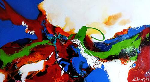 Ute Kleist, ES GEHT WEITER....., Abstraktes, Gefühle, Expressionismus, Abstrakter Expressionismus