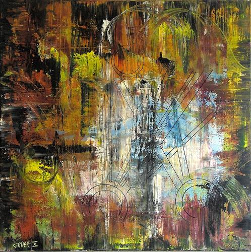 new-art-design, o.T., Abstraktes, Action Painting