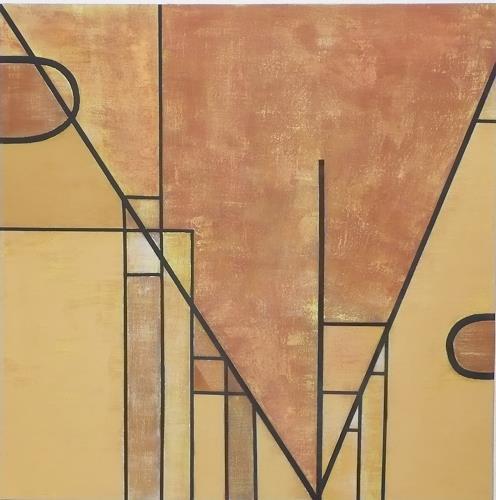 Eva-Maria Bättig-Schoepf, Klare Formen, Abstraktes, Abstrakte Kunst