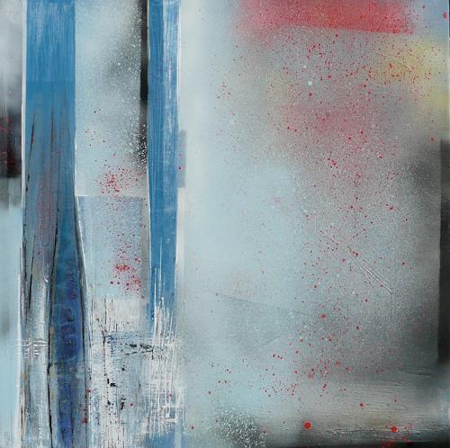 Eva-Maria Bättig-Schoepf, ohne Titel, Abstraktes, Abstrakte Kunst, Expressionismus