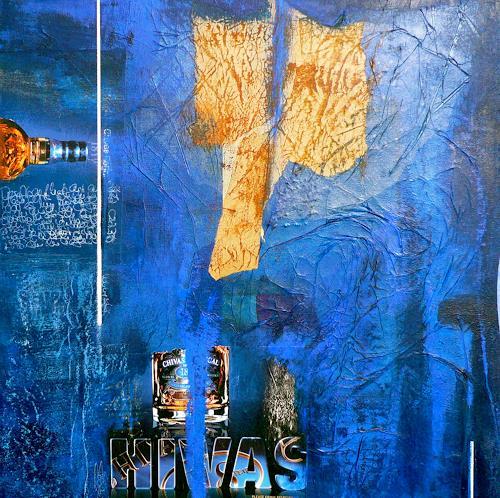 Eva-Maria Bättig-Schoepf, Whiskytime, Abstraktes, Abstrakte Kunst