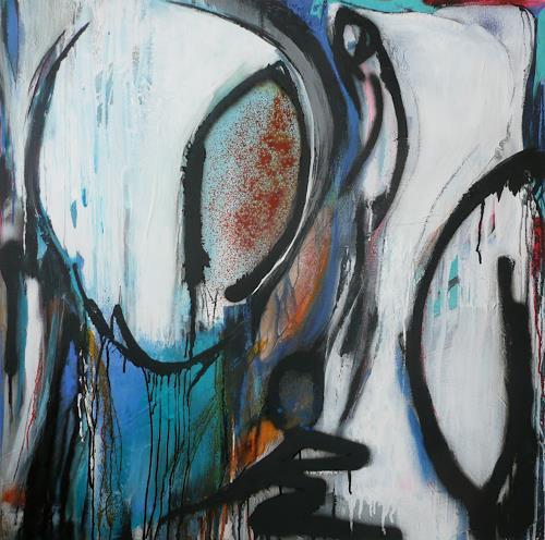 Eva-Maria Bättig-Schoepf, checkpoint, Abstraktes, Abstrakte Kunst