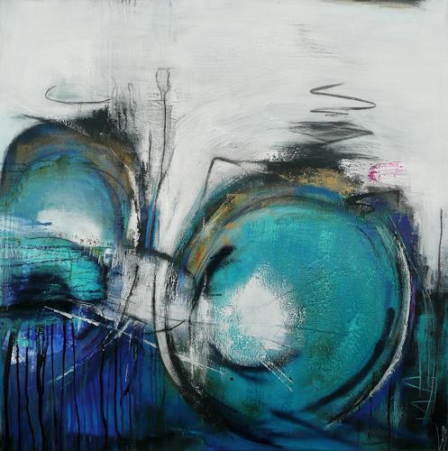 Eva-Maria Bättig-Schoepf, my bicycle, Abstraktes, Abstrakte Kunst