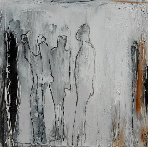 Eva-Maria Bättig-Schoepf, figures, Abstraktes, Abstrakte Kunst