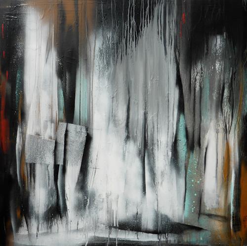 Eva-Maria Bättig-Schoepf, undercover, Abstraktes, Abstrakte Kunst, Expressionismus