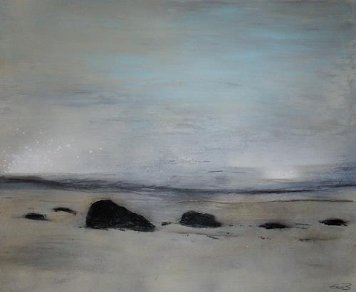 Eva-Maria Bättig-Schoepf, Carpe diem, Abstraktes, Abstrakte Kunst, Expressionismus