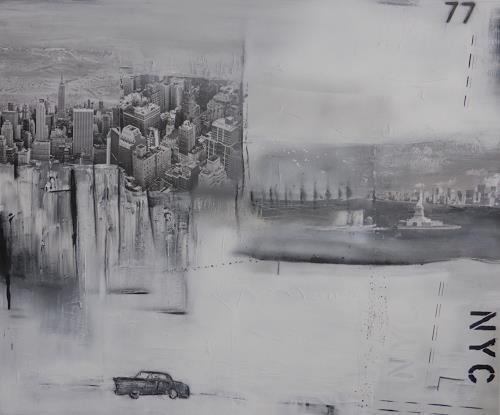 Eva-Maria Bättig-Schoepf, Have a nice trip II, Abstraktes, Abstrakte Kunst, Expressionismus