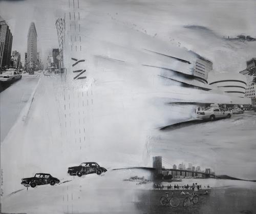 Eva-Maria Bättig-Schoepf, Have a nice trip, Abstraktes, Abstrakte Kunst, Expressionismus