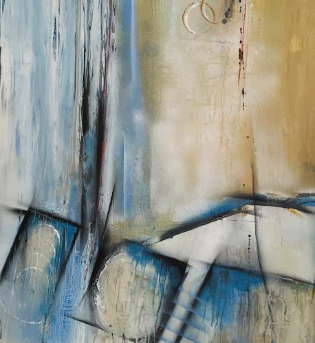 Eva-Maria Bättig-Schoepf, far away, Abstraktes, Abstrakte Kunst