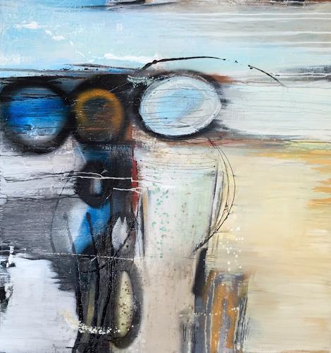 Eva-Maria Bättig-Schoepf, bubble games, Abstraktes, Abstrakte Kunst, Expressionismus