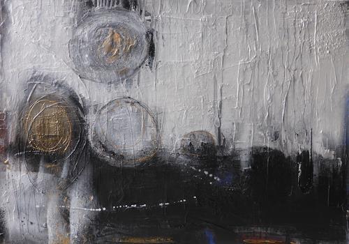 Eva-Maria Bättig-Schoepf, opposites attract, Abstraktes, Abstrakte Kunst
