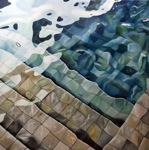 Alex Krull, o.T. (Fliesen), Diverses, Realismus