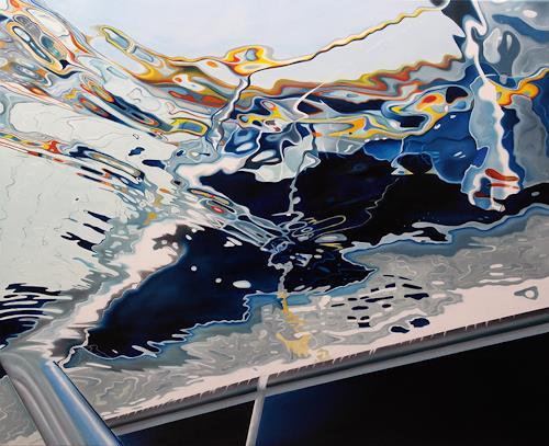 Alex Krull, Curacao, Bewegung, Sport, Realismus, Abstrakter Expressionismus