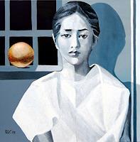 Ulla-Wobst-Menschen-Portraet-Fantasie-Moderne-Andere-Neue-Figurative-Malerei