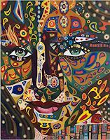 Ulla-Wobst-Fantasie-Menschen-Portraet-Gegenwartskunst-Gegenwartskunst