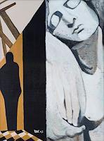 Ulla-Wobst-Gefuehle-Trauer-Moderne-Andere-Neue-Figurative-Malerei