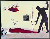 Ulla-Wobst-Menschen-Paare-Gefuehle-Aggression-Moderne-Andere-Neue-Figurative-Malerei