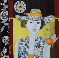 Ulla-Wobst-Religion-Menschen-Frau-Moderne-Andere-Neue-Figurative-Malerei