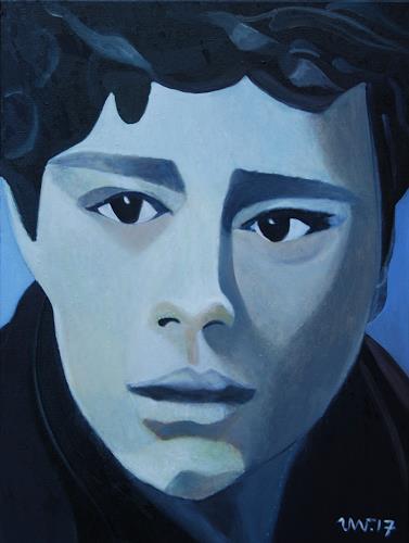 Ulla Wobst, CARL  (Portrait Carl Moritz Wobst ), Menschen, Menschen: Porträt, expressiver Realismus