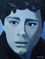 Ulla-Wobst-Menschen-Menschen-Portraet-Moderne-expressiver-Realismus