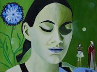 Ulla-Wobst-Menschen-Diverse-Romantik-Moderne-Andere-Neue-Figurative-Malerei