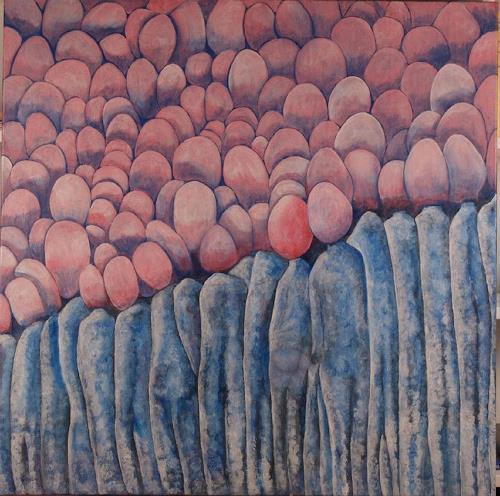 Theo Eckerle, Tagträume, Diverse Erotik, Bewegung, Gegenwartskunst, Abstrakter Expressionismus