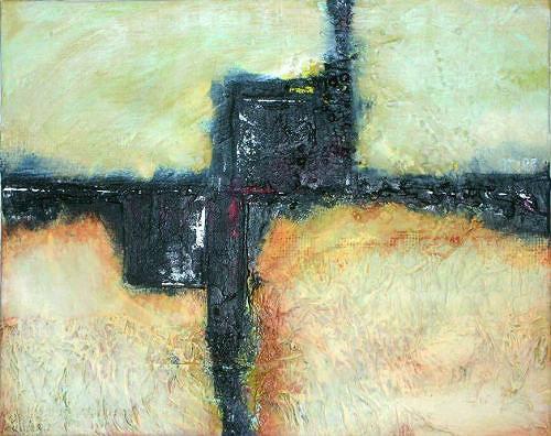 gawaju, o.t. 2009, Abstraktes, Landschaft: Strand, Moderne