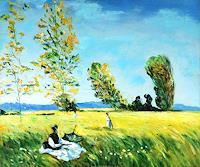 gawaju-Landschaft-Fruehling-Dekoratives-Moderne-Impressionismus
