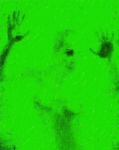 gawaju, o.t., Akt/Erotik: Akt Frau, Gefühle: Angst, Gegenwartskunst, Abstrakter Expressionismus