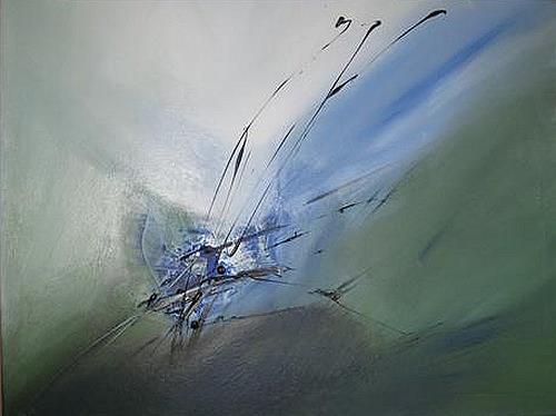 Anita S., o.T., Abstraktes