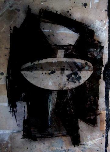 Holger Stroecks, 'Heraus, ihr Schönen von Mahagonny' I, Gesellschaft, Gegenwartskunst, Abstrakter Expressionismus