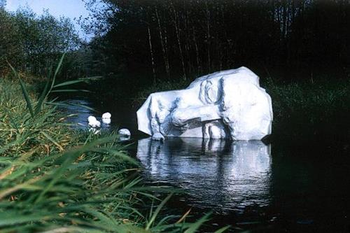 Tomasz Koclega, Sadness, Poesie, Natur: Wasser, Neuzeit, Abstrakter Expressionismus