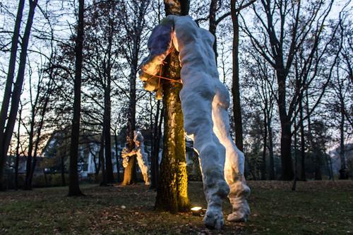 Tomasz Koclega, Closeness, Menschen: Mann, Abstrakter Expressionismus