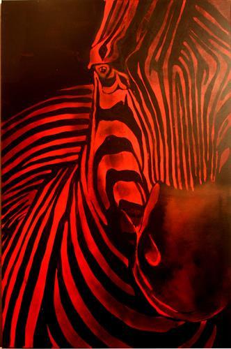 artebur, Zebra, Diverses, Diverses, Moderne, Abstrakter Expressionismus