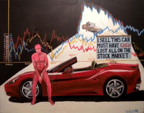 riacconi, red man collection, Menschen: Mann, Pop-Art