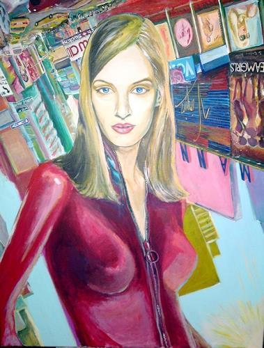 riacconi, uma thurman, Menschen: Frau, Pop-Art