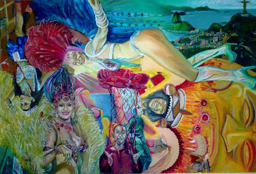 riacconi, Rio, Karneval, Party/Feier, Pop-Art