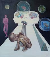 riacconi-Menschen-Mann-Gegenwartskunst--Gegenwartskunst-