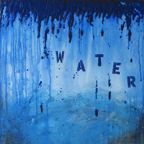 Susanne Müller-Wälti / atelier card and art, Water, Abstraktes, Abstrakte Kunst, Moderne