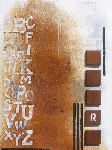 Susanne Müller-Wälti / atelier card and art, R, Abstraktes, Abstrakte Kunst