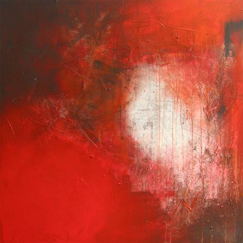 Susanne Müller-Wälti / atelier card and art, Rot, Abstraktes, Abstrakte Kunst, Moderne