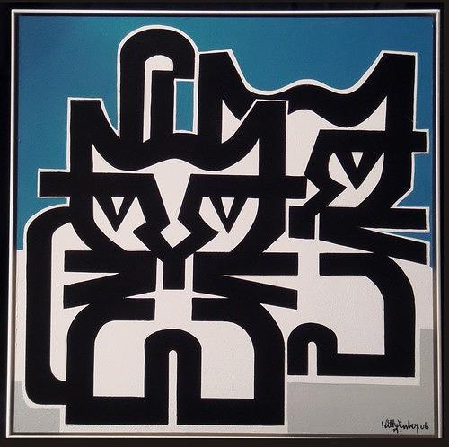 Willy Zuber, Katzenschreie, Tiere: Land