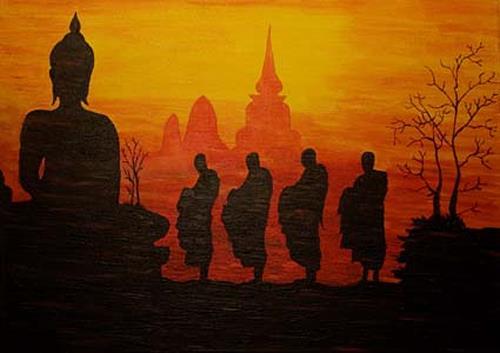 Ingrid TROLP, Siam-im Land der Mönche, Mythologie, Glauben, Andere, Moderne