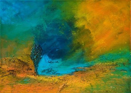 Ingrid TROLP, Elemente, Abstraktes, Fantasie