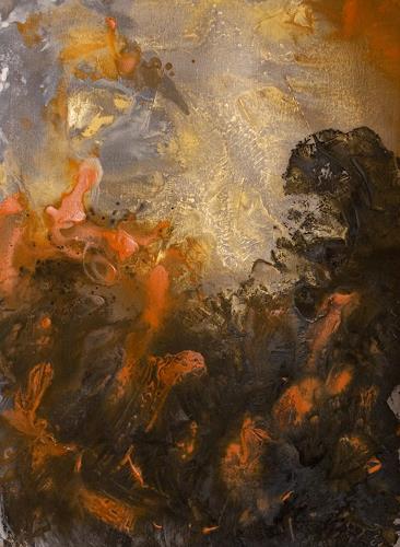 Ingrid TROLP, Feuerwind, Abstraktes, Natur: Feuer