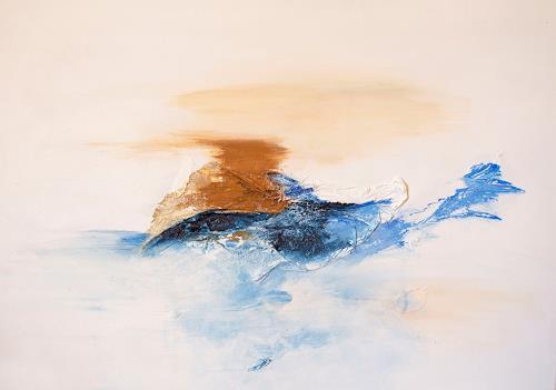 Ingrid TROLP, fin del mundo, Landschaft: See/Meer, Natur: Erde, Gegenwartskunst, Expressionismus