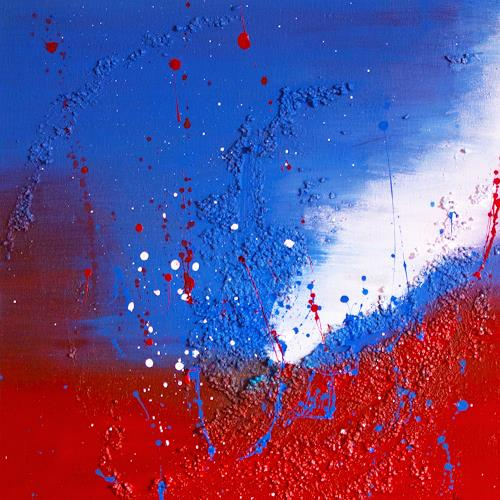 Ingrid TROLP, Ein Land im Tal der Tränen, Gefühle: Trauer, Situationen, Gegenwartskunst, Abstrakter Expressionismus