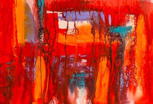 Ingrid TROLP, Enigmatisch, Abstraktes, Diverse Gefühle, Gegenwartskunst